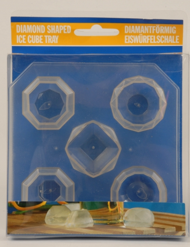 IJsblokjes diamantvorm 5 stuks