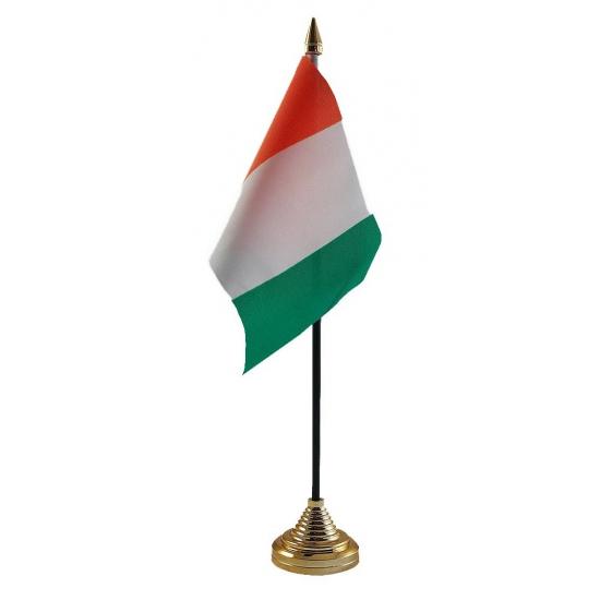 Ivoorkust tafelvlaggetje inclusief standaard