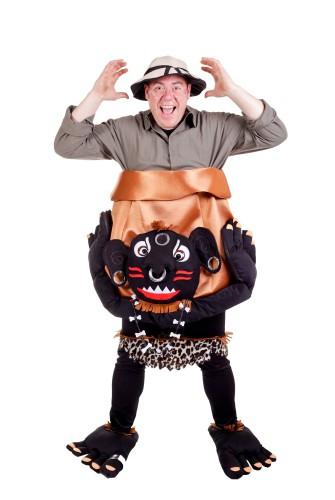 Kannibaal kostuum voor volwassenen