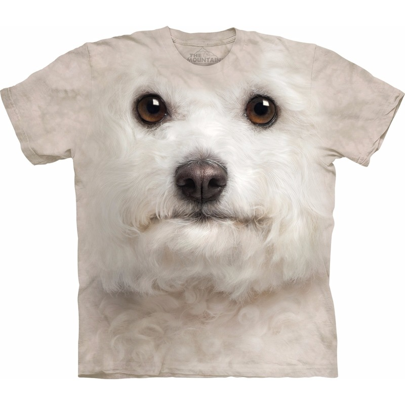 Kinder honden T shirt Bichon Frise