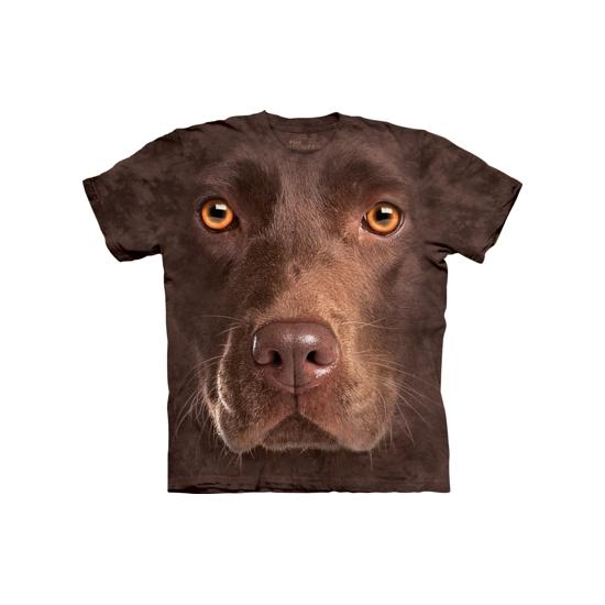Kinder honden T shirt bruine Labrador