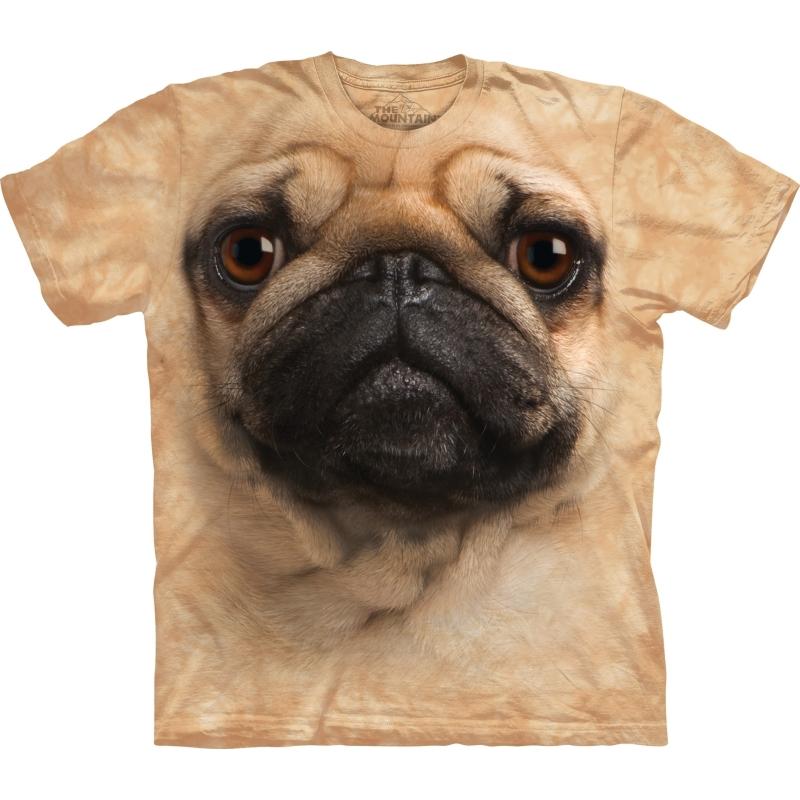 Kinder honden T shirt Mopshond