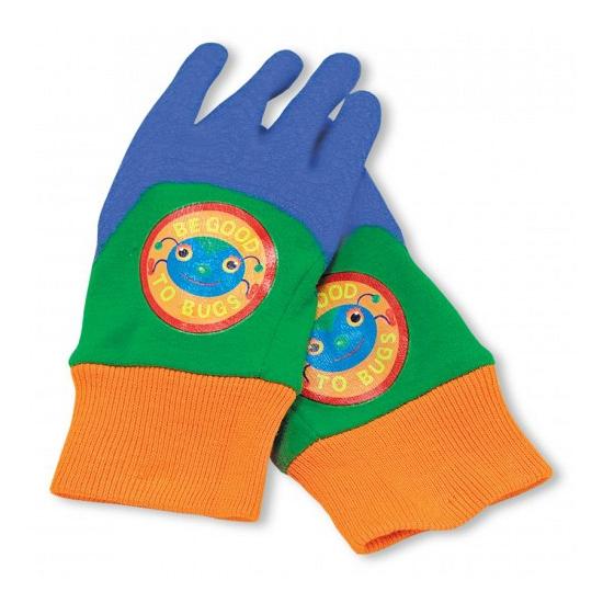 Kinder werkhandschoenen met rubber