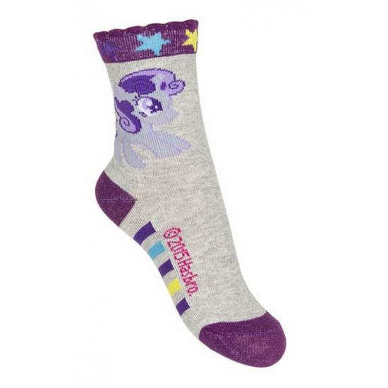 Kindersokken My Little Pony grijs