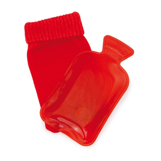 Klein kruikje rood gekleurd