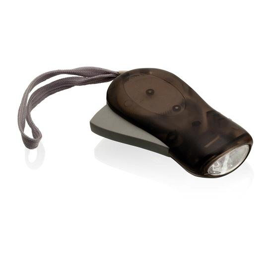 Knijpkat zwart met LED licht