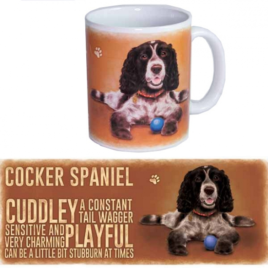 Koffie mok Cocker Spaniel hond 300 ml