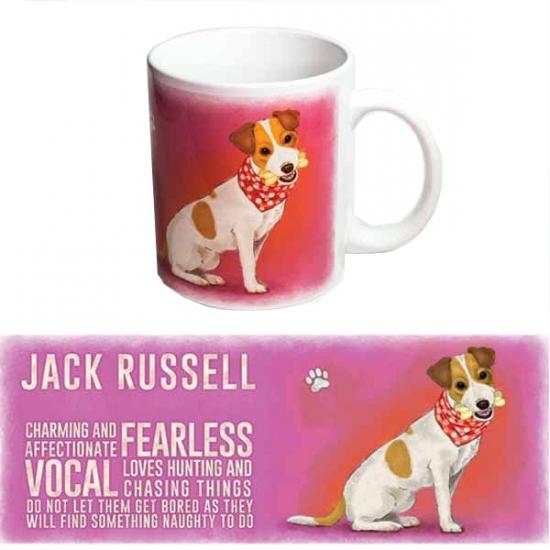 Koffie mok Jack Russell hond 300 ml