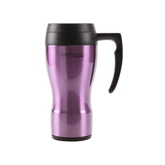 Koffie thermosbeker paars