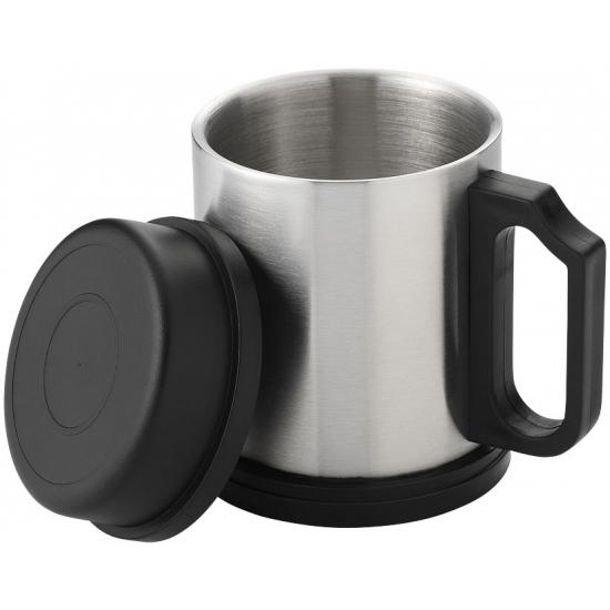 Koffiemok geisoleerd