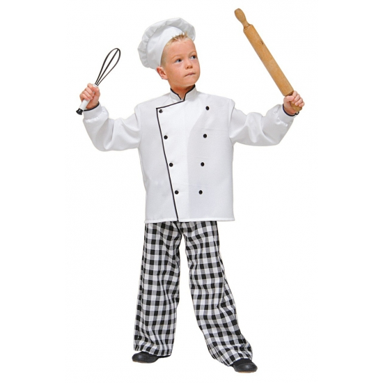 Chefkoks outfit kinderen