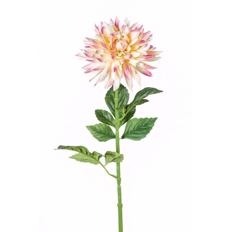 Kunst Dahlia tak 70 cm roze