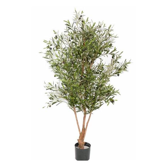 Kunst olijfboom op stam 150 cm