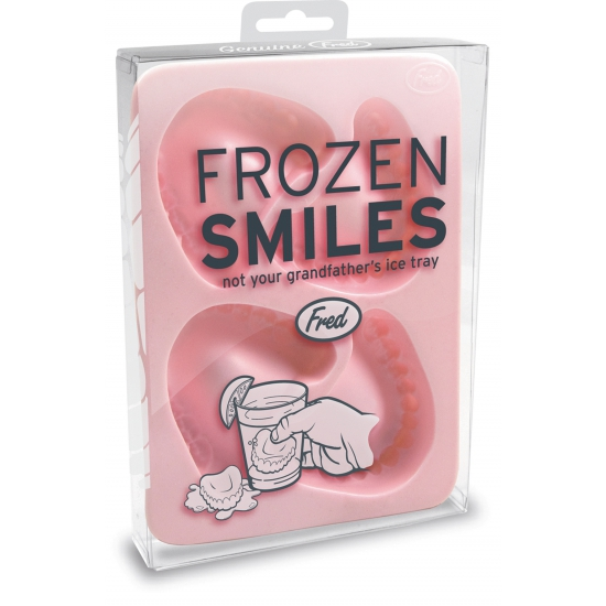 Kunstgebit ijsblokjes