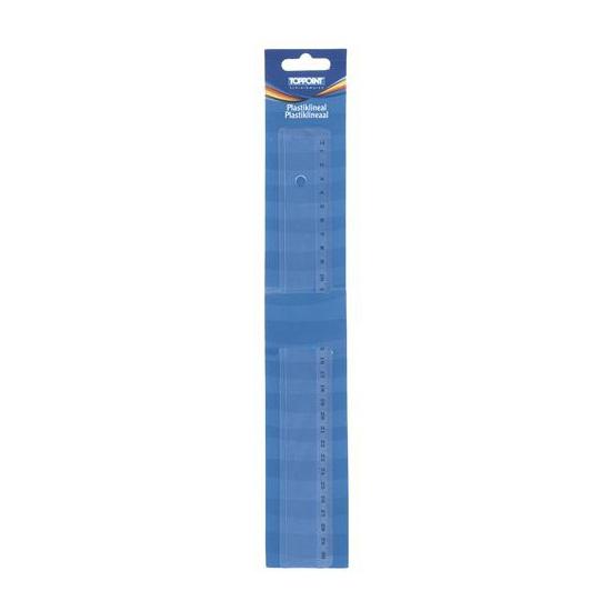 Kunststof Liniaal 30 cm