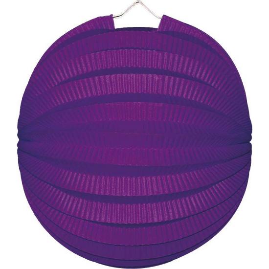 Lampion paars 22 cm