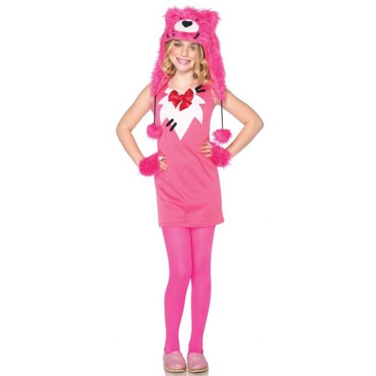 Leg Avenue roze beer kostuum voor kinderen