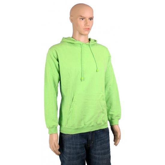 Lime groene sweater voor volwassenen