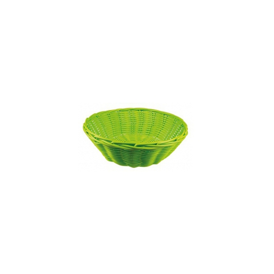 Lime rieten mandje 25 cm