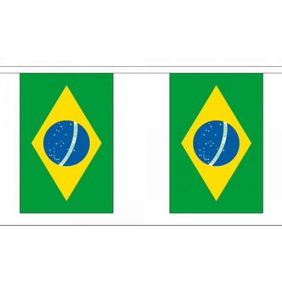 Braxiliaanse versiering vlaggenlijn