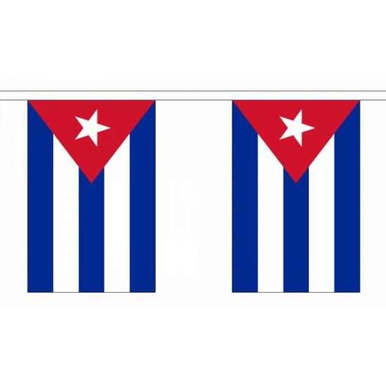 Cuba versiering vlaggenlijn