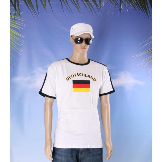 Witte zwart t shirt duitsland