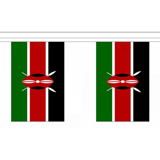 Luxe Kenia vlaggenlijn 9 m