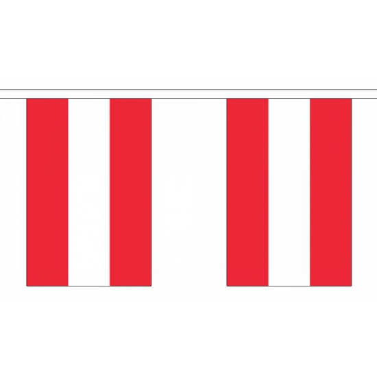 Oostenrijk vlaggenlijn
