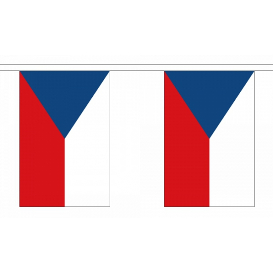 Luxe Tsjechie vlaggenlijn 9 m