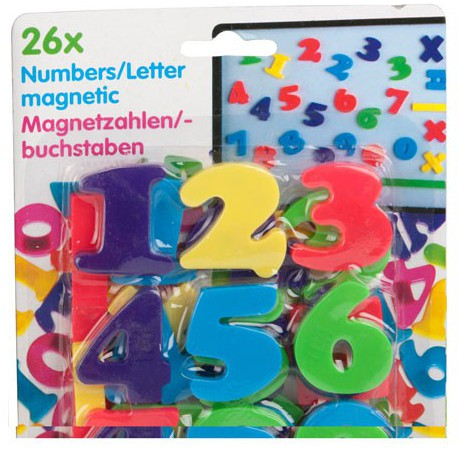 Magnetische cijfers 26 stuks