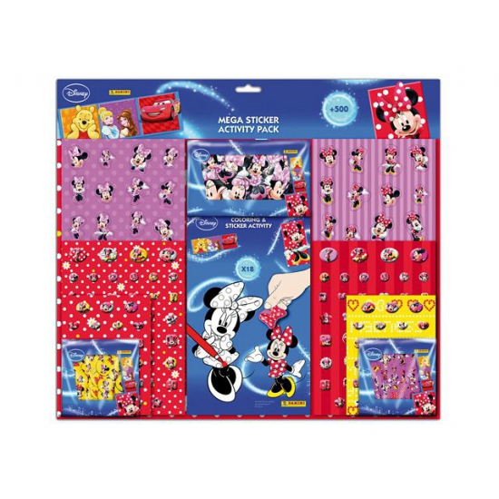 Mega stickerset Disney Minnie Mouse