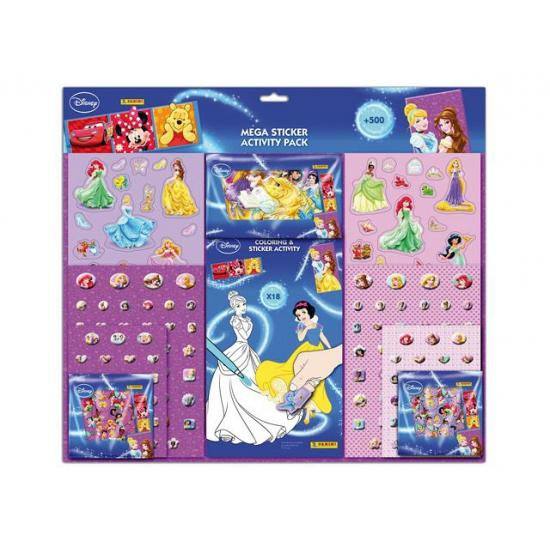 Mega stickerset Disney prinsessen
