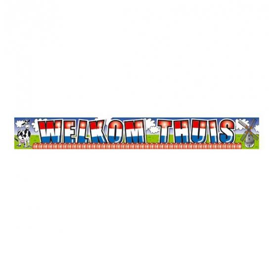 Banner holland welkom thuis