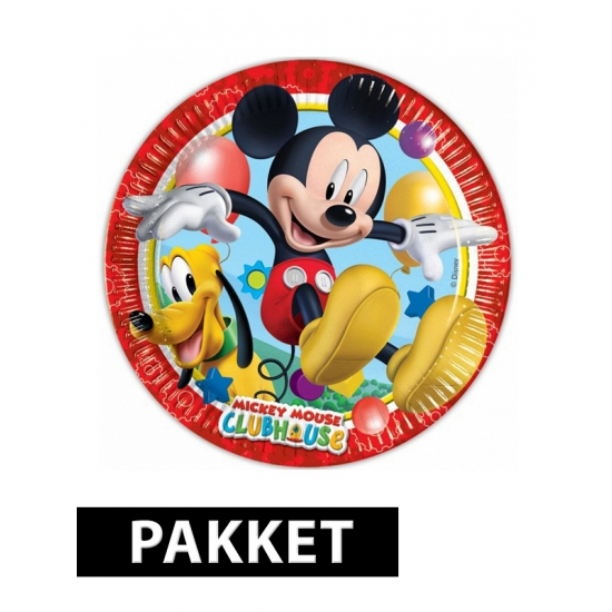 Mickey Mouse kinderfeest pakket