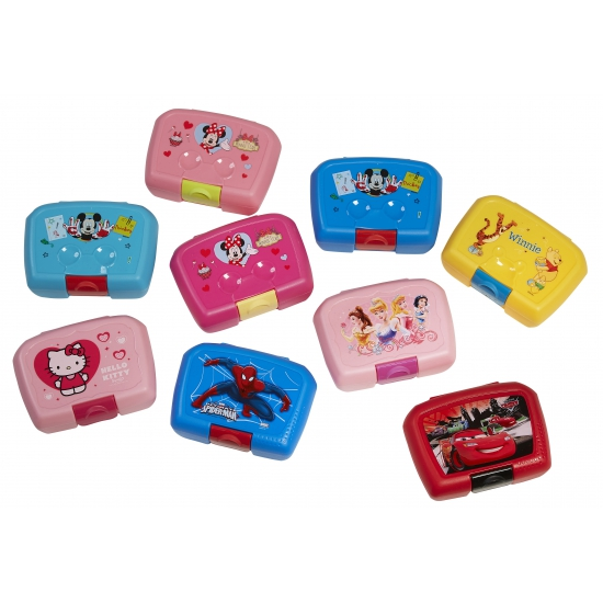 Mickey Mouse lunchbox donkerblauw 18 x 12 cm
