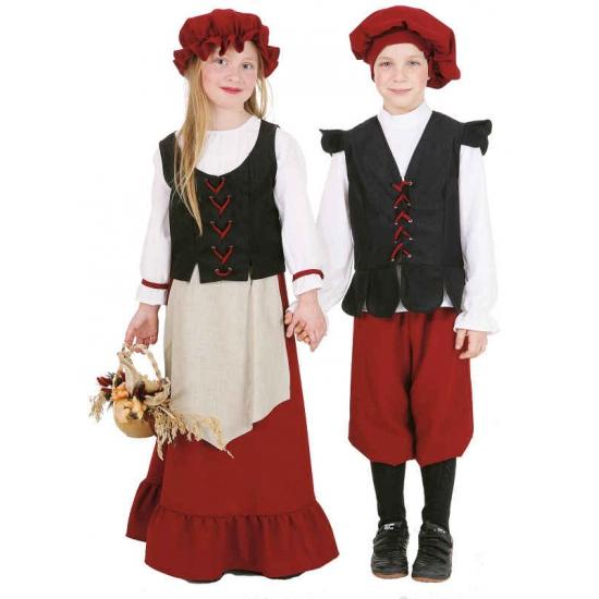 Middeleeuws jongens kostuum