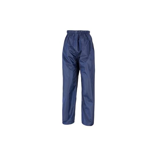 Navy blauwe regenbroek voor kinderen