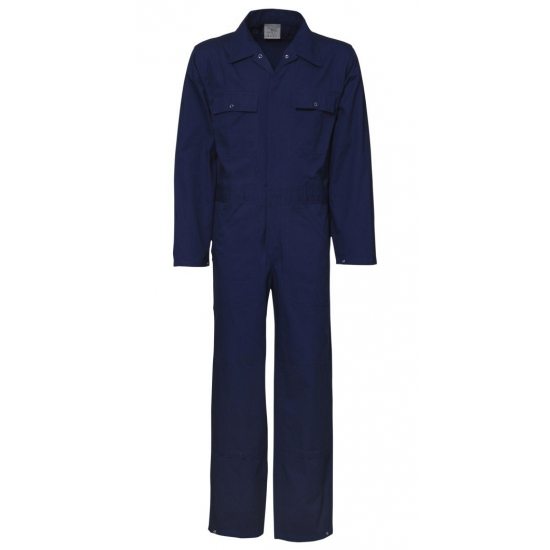Navy overalls voor volwassenen