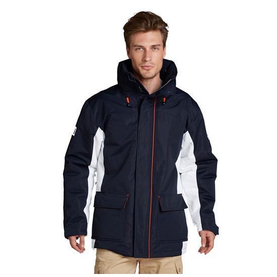 Navy parka jas voor heren