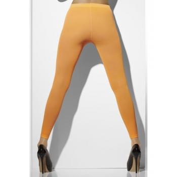 Neon oranje dames legging