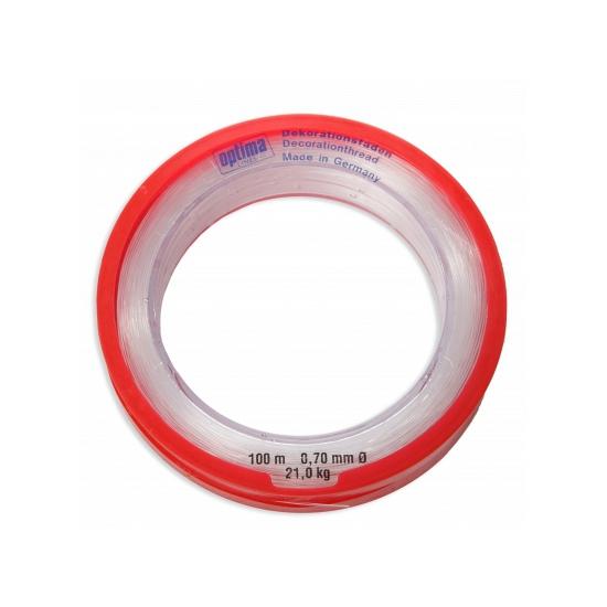 Nylon draad op rol 0, 7 mm