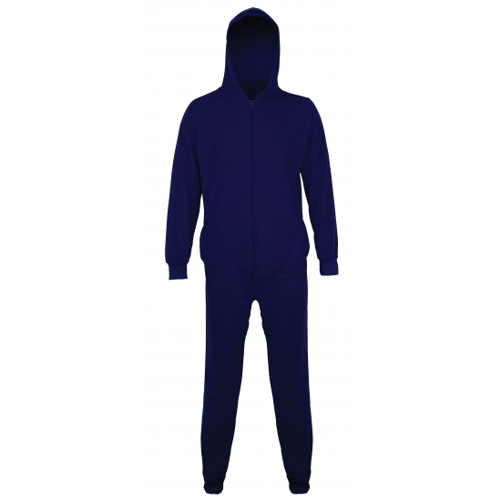 Onesie navy blauw voor kids