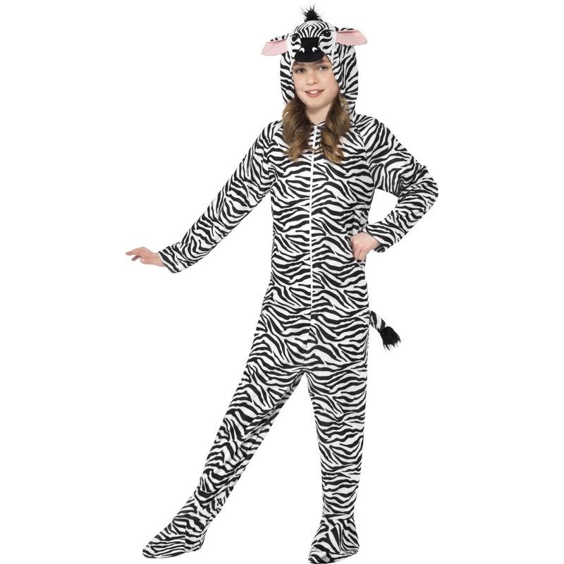 Onesie zebra voor kids