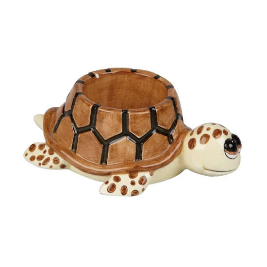 Ontbijt schildpad eierdopje 10 cm