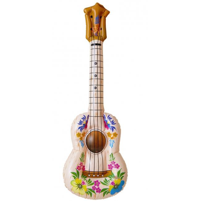 Opblaasbare bloemen gitaar