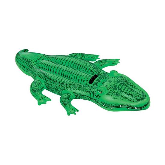 Opblaasbare krokodil 168 cm