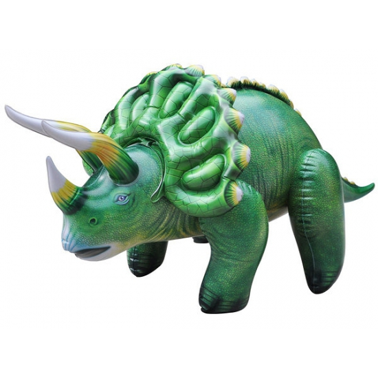 Opblaasbare levensechte Triceratops 109 cm