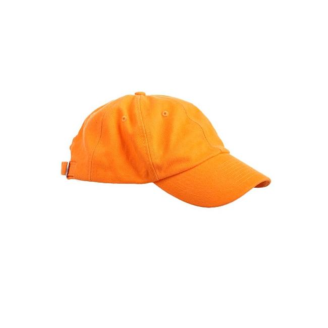 Oranje baseballcaps