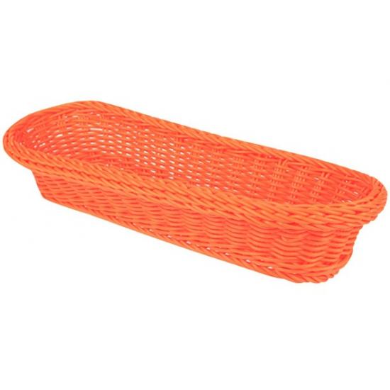 Oranje kado mandje 37,5 cm