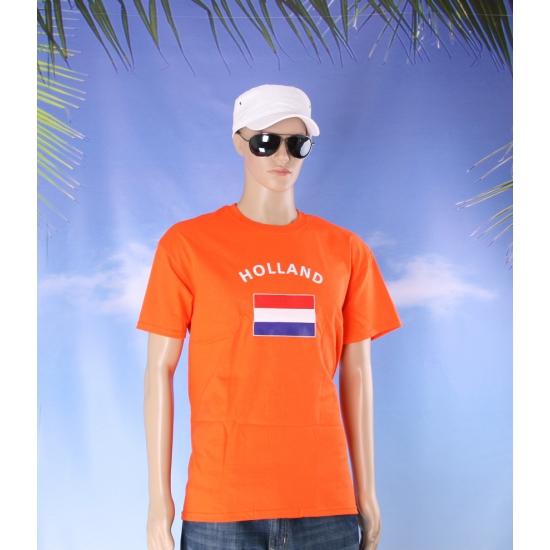 Oranje shirts volwassenen
